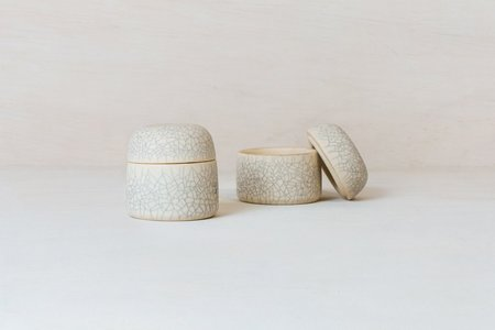 Earthen Jewelry Box - Crackle