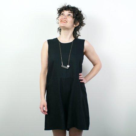 Allison Wonderland Roquette Romper - Black