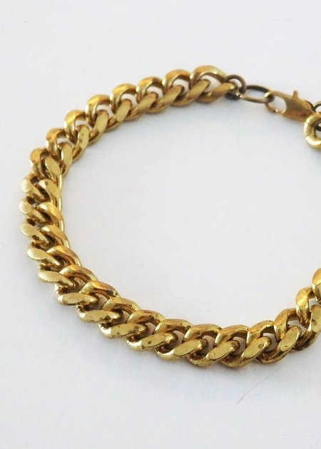 Metrix Jewelry Chain bracelet - brass