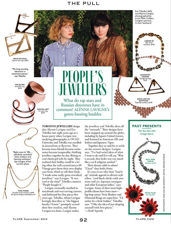 ALYNNE LAVIGNE - Ball Chain Necklace
