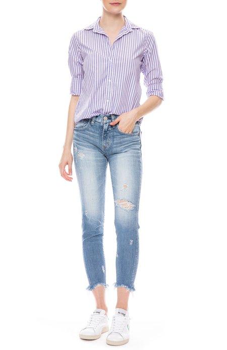 Frank & Eileen Frank Striped Italian Cotton Shirt