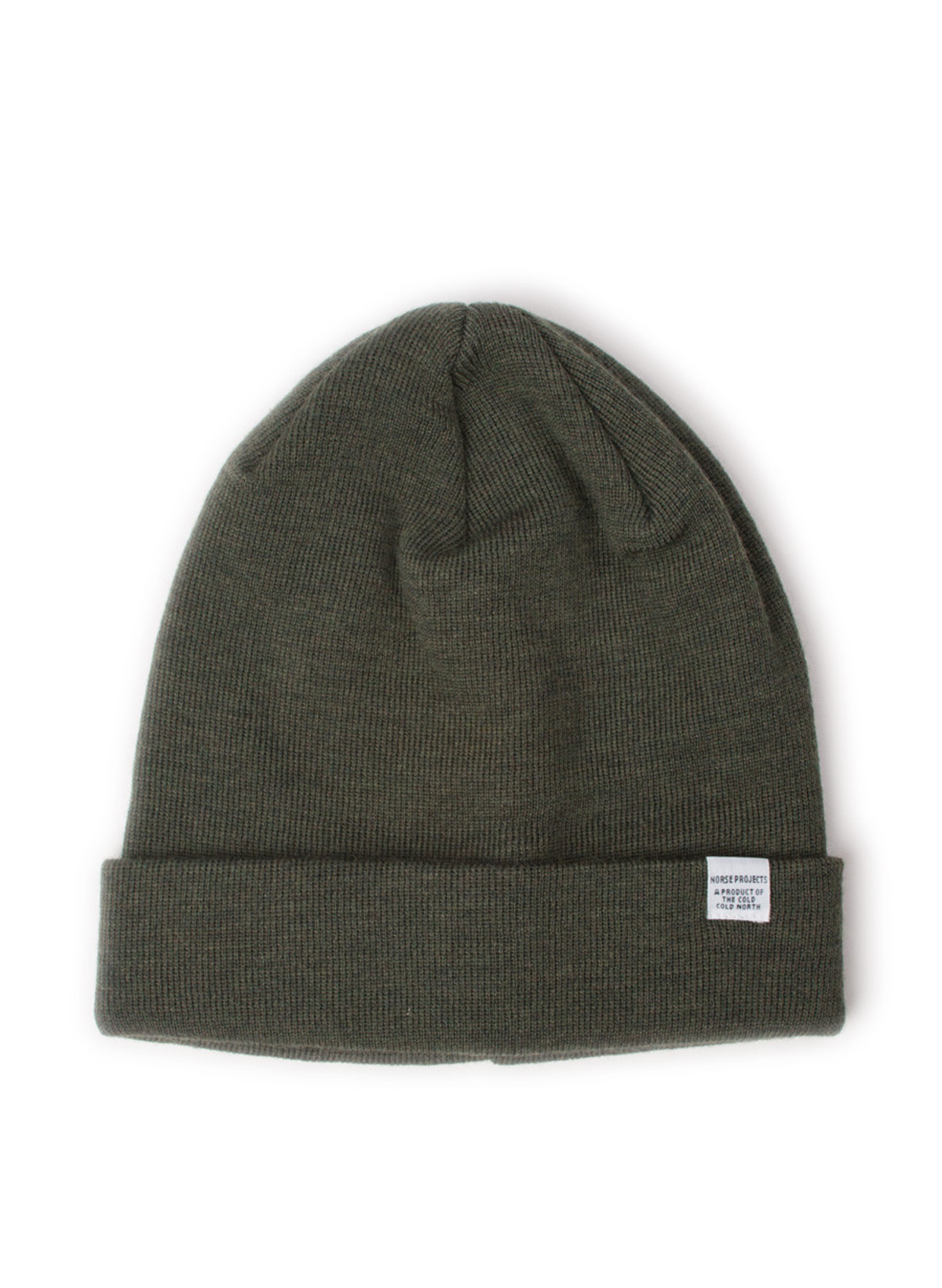 e9618588e10 Norse Projects Norse Top Beanie Dried Olive