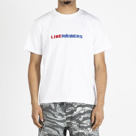 Liberaiders Embroidery T shirt - White