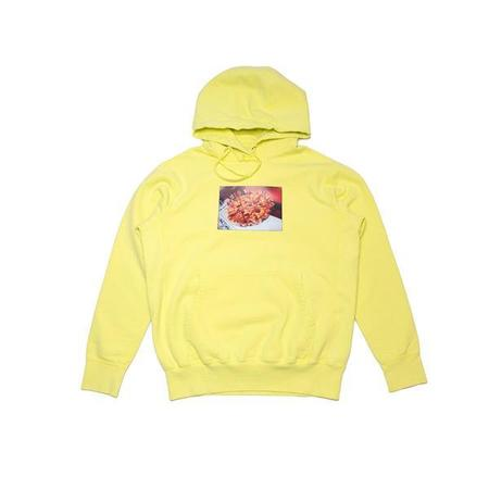 Raised by Wolves Pizza Hoodie - Lime