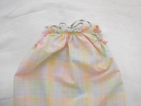 Makié Celina Baby Romper - Rainbow Check