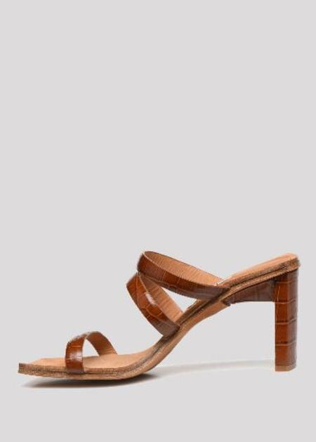 Miista Joanne clay crow high heel - brown