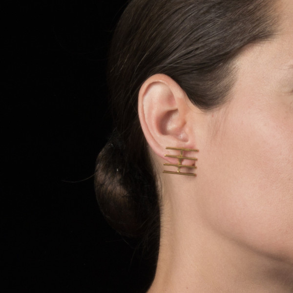 Alynne Lavigne Fence Earrings