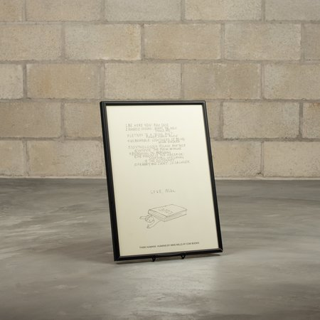 COW BOOKS Mike Mills Poster - White