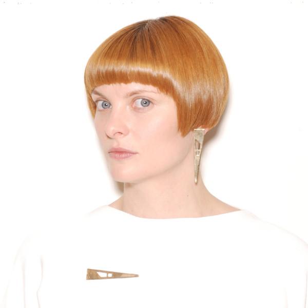ALYNNE LAVIGNE - Quadri Cutout Earrings