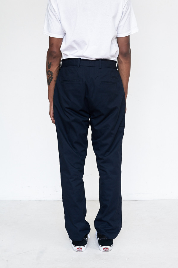 Men's Assembly New York Cotton Rogue Pleat Pant