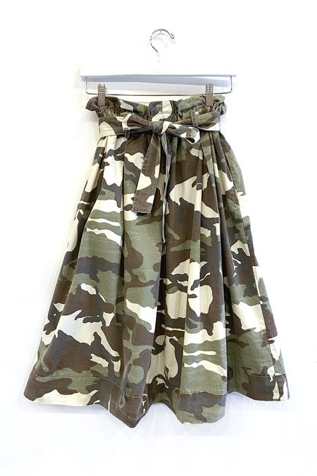 Amici by Baci Bow-Tie Skirt - Vintage Camo