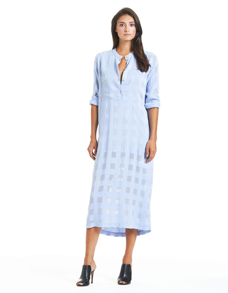 RODEBJER KOLLUM PALE SKY DRESS