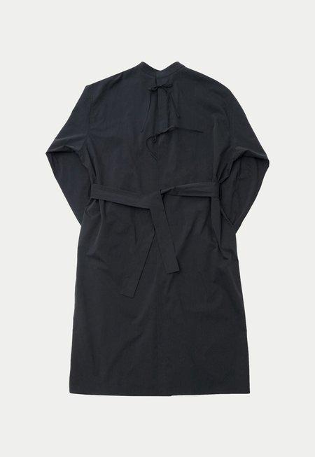 AMOMENTO Back Open Dress - Navy