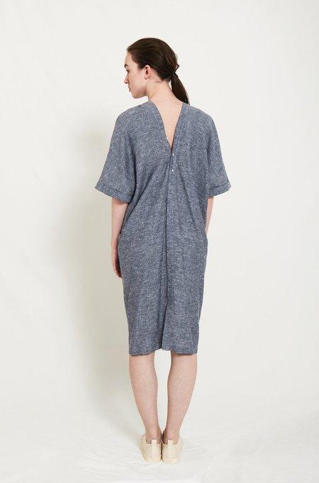 Elsien Gringhuis Kimono dress - blue hemp