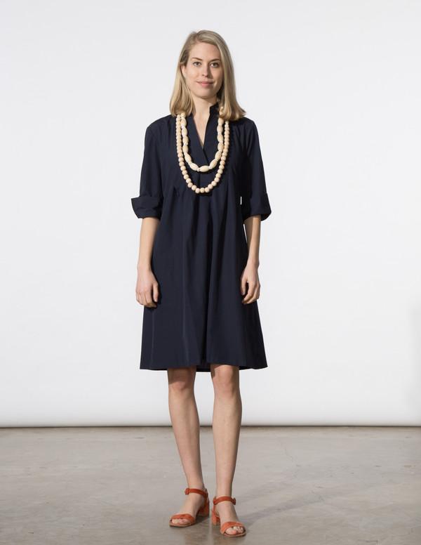SBJ Austin Ellen Dress - Navy