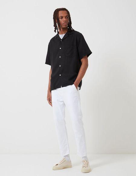 Portuguese Flannel Dogtown Shirt - Black