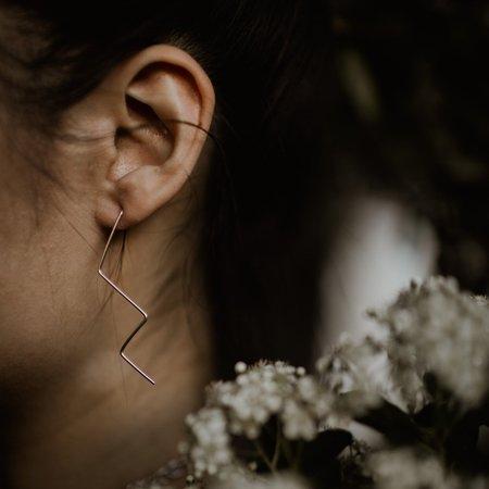 Emily's The Zig Zag Earring - Sterling Silver
