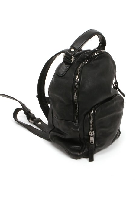Giorgio Brato Leather Backpack - Black