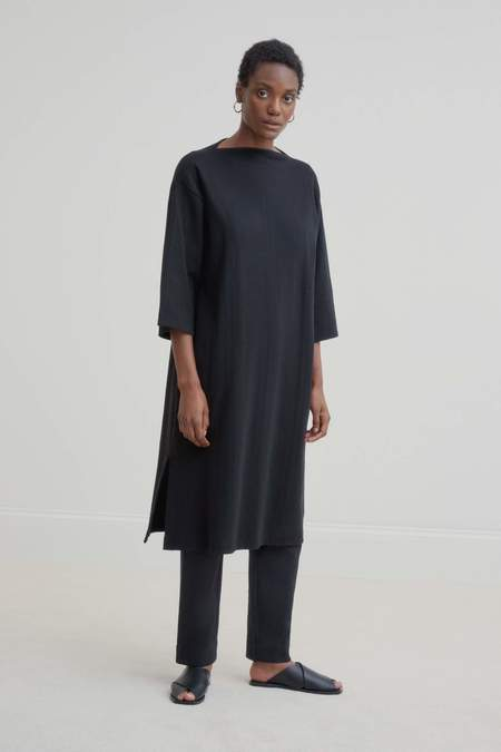 Kowtow Funnel Neck Dress - Black