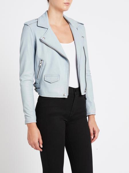 IRO Ashville Biker Jacket - summer blue