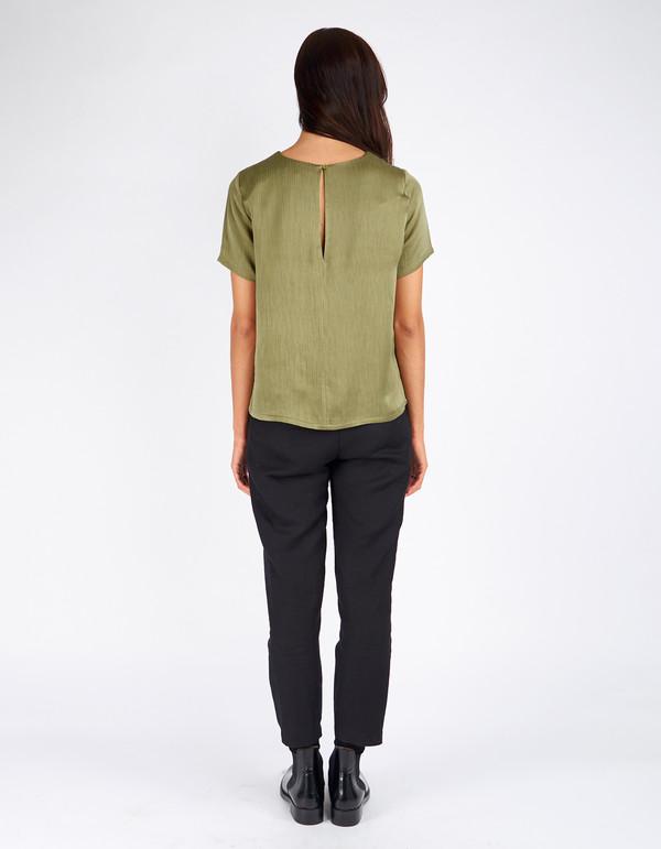 Just Female Egon Top Litchen Green