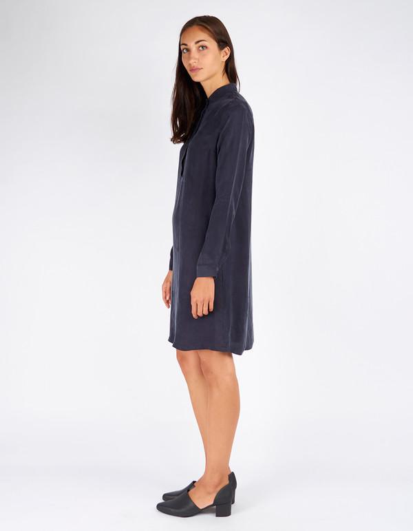 Just Female Gala Long Shirt Dress Dress Blue