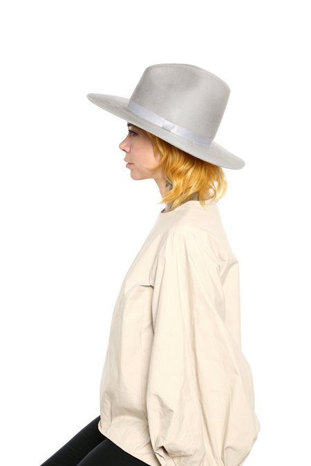 Bagtazo Pallenberg hat - pearl grey