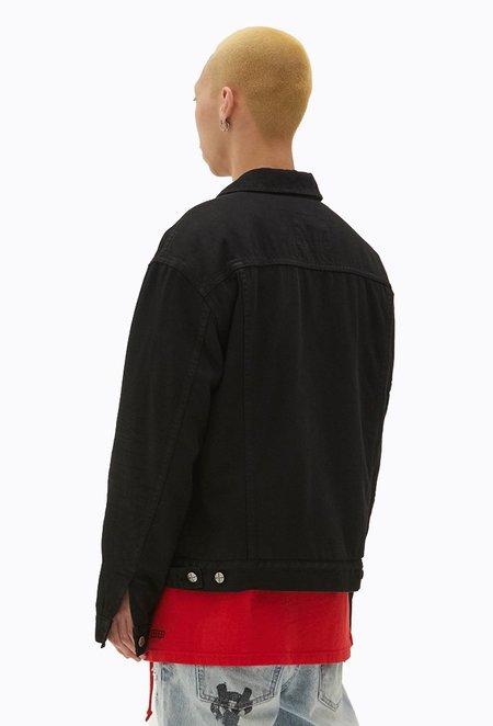 Ksubi Oh G Jacket Tainted Black Borg