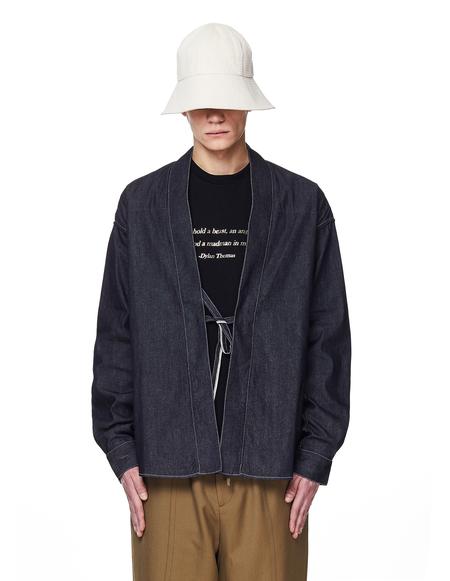 Visvim Lhamo Denim Kimono Shirt