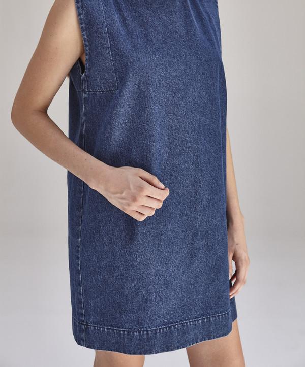 Ilana Kohn Kate Mini Dress in Denim