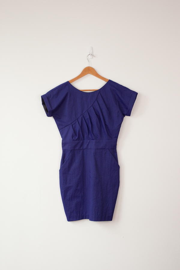 Jean Dress (Electric Blue)