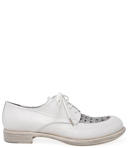 Rocco P Lace up - White/Silver
