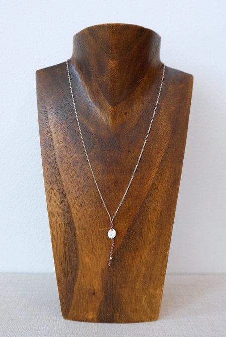 SCOSHA Coin Trinket Necklace - Sterling Silver
