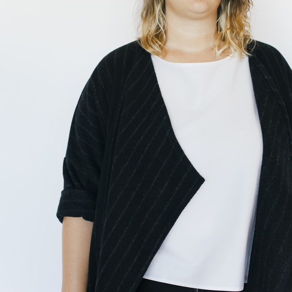 HDH Plus: Striped Tara Jacket