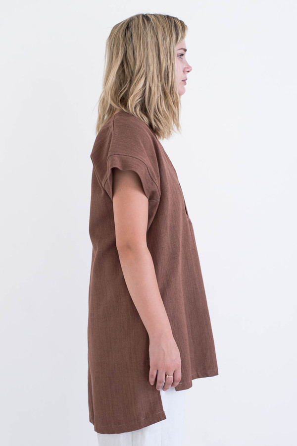 REIFhaus Porto Tunic in Silk Tweed