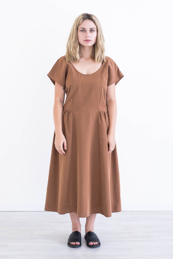 REIFhaus Wave Dress in Sienna