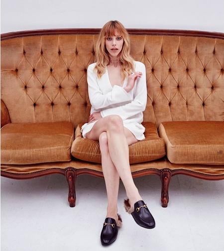 Pfeiffer Bell Sleeve Dress