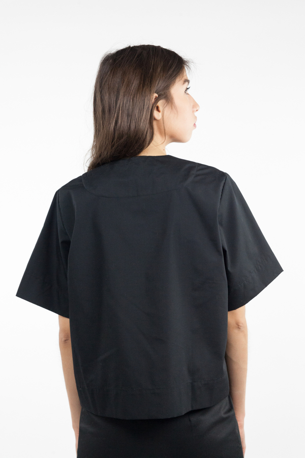 Toit Volant Voila Tie Top - Black