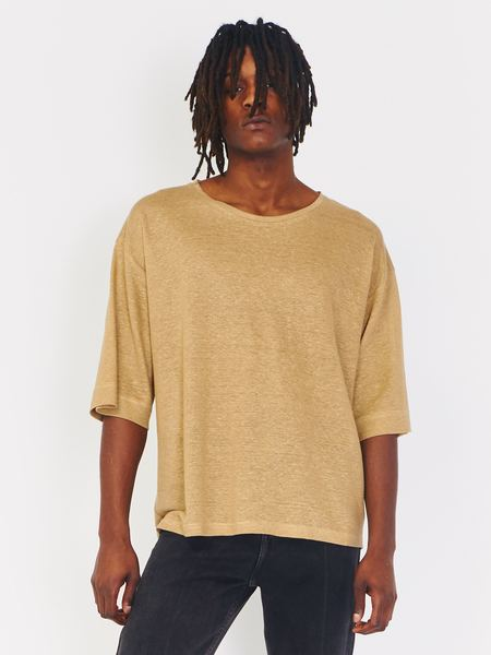 House of the Very Islands Air Bag T-Shirt - Brown