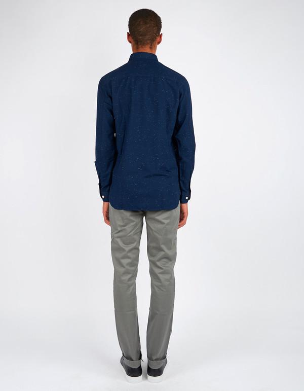 Minimum Bronxwood Shirt Dark Iris