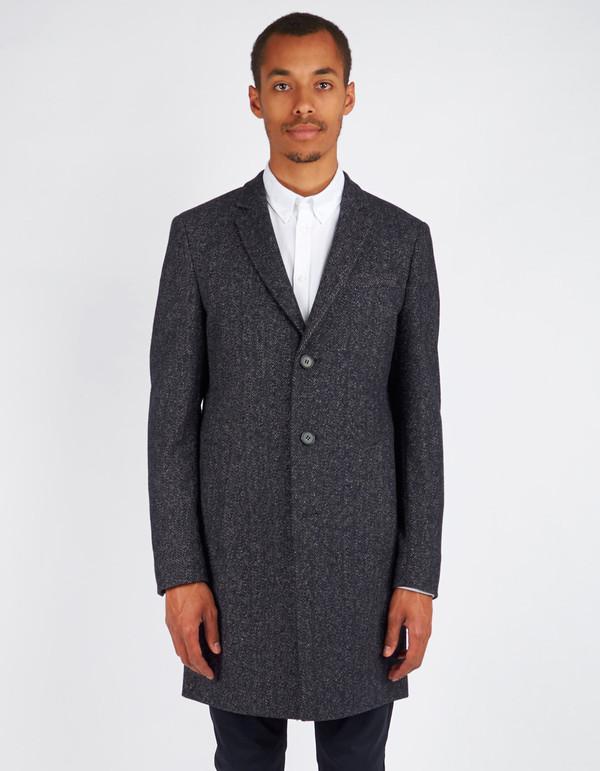 Men's Minimum Black Gleason Coat Dark Navy
