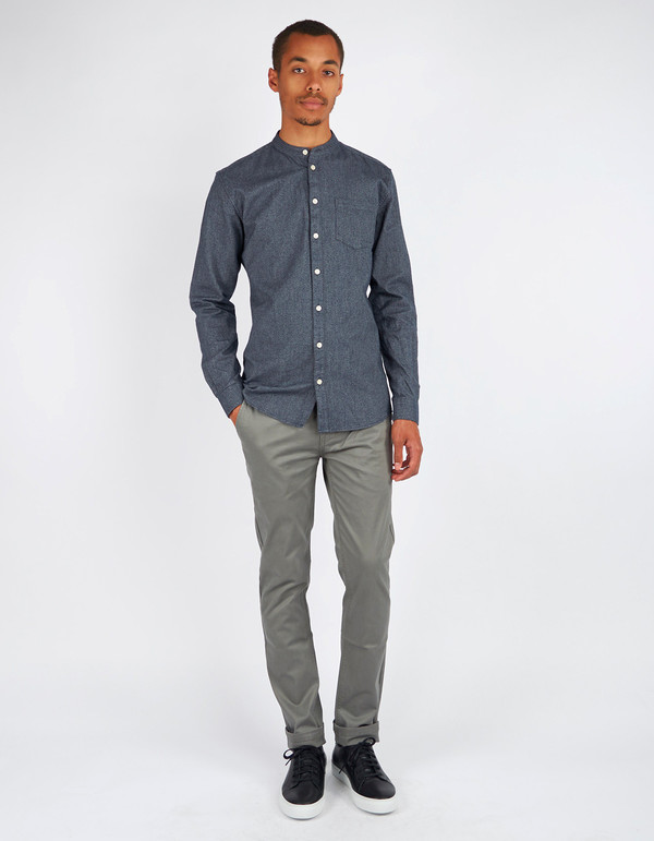 Minimum Totara Shirt Dark Navy