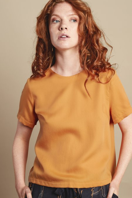 RHUMAA Diverse top - orange