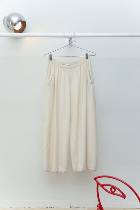 Sonia Rykiel Angora Lounge Pants - Cream
