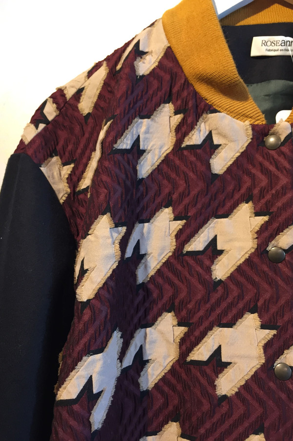 Roseanna 'Teddy' Varsity Jacket