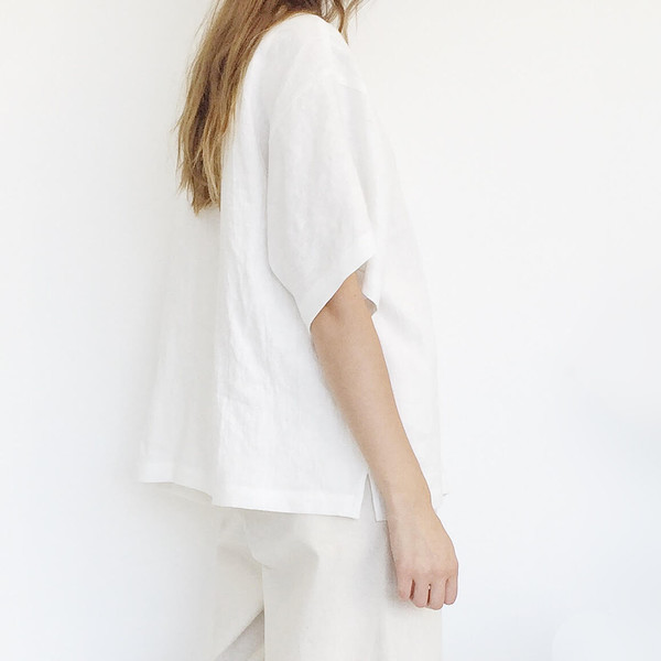 b Oyster Pocket Top