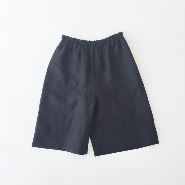 Johan b Black Linen Dress Short