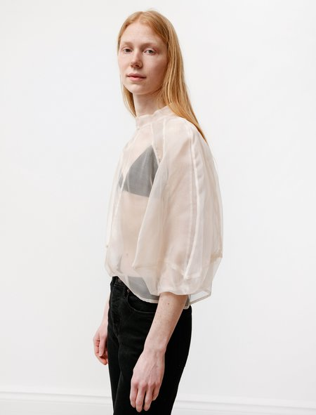Kamperett Meiere Sheer Blouse - Ivory
