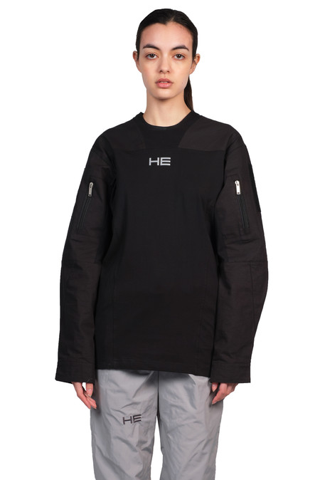 Heliot Emil Long Sleeve Tactical Shirt - Black