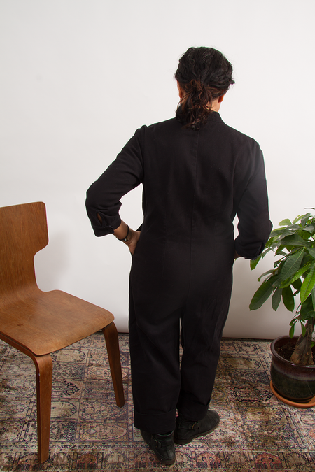 Bhoomki Rosie Straight Jumpsuit - Black